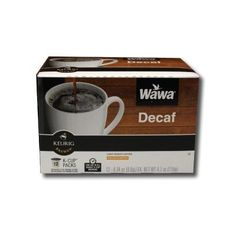 Wawa Coffee Single serve cups for Keurig KCup Brewers Decaf *** Click image to review more details.