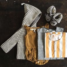 Stripes - part of a great sales order! #mishaandpuff #tinycottons #aswegrow…