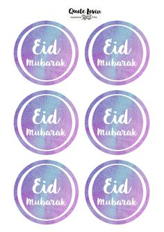 DIY Eid Mubarak Tags   Quote Lovin