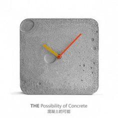 กรี๊ด...ด  ข้าพเจ้าชอบมันจัง Concrete clock