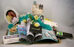 """Eclectic Paperie: """"Our Story"""" ~ Altered Book"""