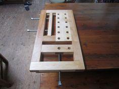 Milkman's Workbench in Maple - by Lumberpunk @ LumberJocks.com ~ woodworking community #WoodworkingBench
