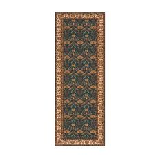 Persian Garden Teal Blue Runner: 2 Ft. 6 In. x 8 Ft. Rug