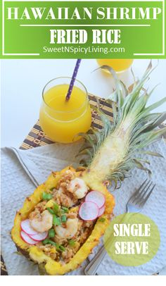 Taste of Summer: Hawaiian Shrimp Fried Rice, bringing tropical flavors at home :)