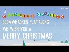 We Wish You a Merry Christmas - Boomwhacker - YouTube
