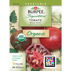Burpee Black Krim Tomato Seed Packet