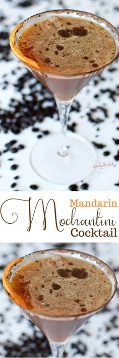 This recipe for orange chocolate martini is a twist on the classic chocolate martini cocktail recipe. My mandarin mochatini cocktail recipe features freshly squeezed mandarin orange juice as well as a shot of espresso. The prefect brunch cocktail or midda
