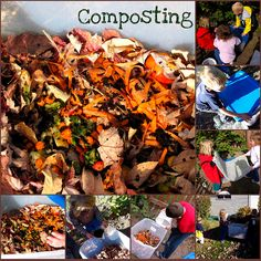 Composting with kids - Things to Share and Remember