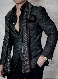 Our S by Sebastian Tourmaline Altezza Jacket Is already almost sold out. What an epic piece! #sebastiancruzcouture