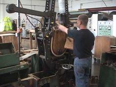 Steam bending wood for furniture, super cool