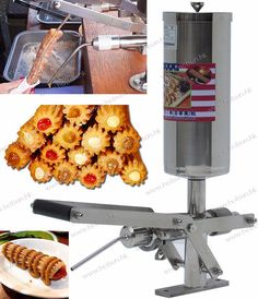 #304 Stainless Steel 5L Manual Spainish Churros Nutella Filler Filling Machine #Affiliate