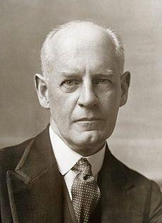 John Galsworthy, 1867 - 1933. 65; writer.