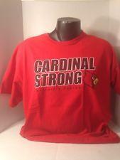 Louisville Cardinals Football Tshirt Size Xl