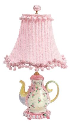 PAPIROLAS COLORIDAS: TEA TIME 3ª PARTE. So cute for a little girls room.