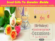 I think Greater Noida online florist gives you better function in any occasions. You can send flowers to Greater Noida to your lover and relatives. http://www.buyflower.co.in/send-flowers-to-greater-noida