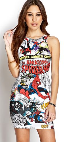 So I wouldn't actually wear this but it's pretty awesome