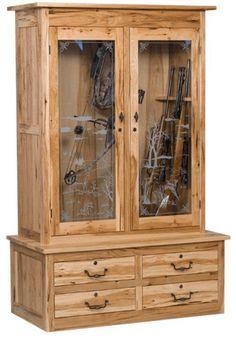 build a display cabinet for firearms gun rack pinterest rh pinterest com Cool Gun Cabinets Plans DIY Gun Cabinet Plans
