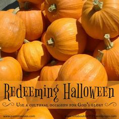 Let's redeem Halloween by using it to bless our neighbors - from Carole Sparks for PastorsWives.Com