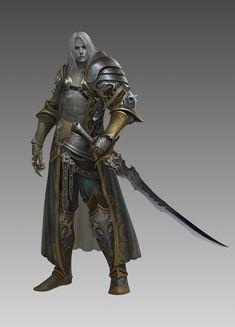Com/Artwork/Xdqww fantasy male, fantasy armor, medieval fant Fantasy Male, Fantasy Armor, High Fantasy, Medieval Fantasy, Fantasy Inspiration, Character Inspiration, Paladin, Dnd Characters, Fantasy Characters