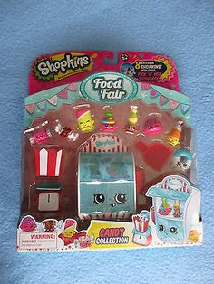 SHOPKINS SEASON 4 FOOD FAIR CANDY COLLECTION PLAY SET (NEW RELEASE)