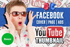 you will get 1 social media banner Choices: facebook, youtube, twitter, google plus, Linkedin and instagram Here is what i need to get started: Any specific images you would like me to use if 1 banner order - name of social media Specific banner text or banner content Any important images like logo, product images, headshot, caricature etc that you like to include in the design Youtube Thumbnail Creator, Free Thumbnail Maker, Thumbnail Design, Life Hacks Youtube, Youtube Memes, Social Media Banner, Social Media Design, Create Facebook Cover