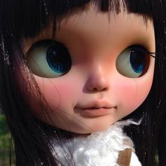 Image of Liesl OOAK takara Blythe customized by me