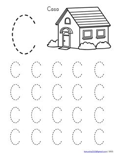Handwriting Worksheets For Kids, Printable Preschool Worksheets, English Worksheets For Kids, Kindergarten Math Worksheets, Kindergarten Learning, Preschool Learning Activities, Alphabet Worksheets, Preschool Writing, Numbers Preschool