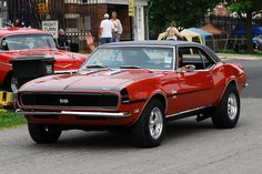 67 Camaro SS with rag top