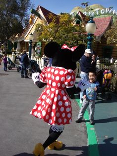 Minnie @ The happiest place on earth