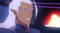 Concept where Lotor just uses that Altean chameleon skill to make it harder to tell he's Altean by blending his skin into his marks heheh