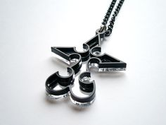 Kingdom Hearts Nobody Emblem Pendant Necklace