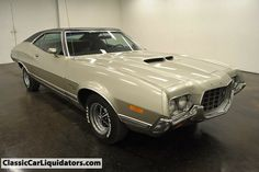 1972 Ford Gran Torino Sport 351 Cobra Jet and Auto Ford Motor Company, Classic Motors, Classic Cars, Classic Style, Grand Torino, Vintage Cars, Antique Cars, Jaguar, Counting Cars
