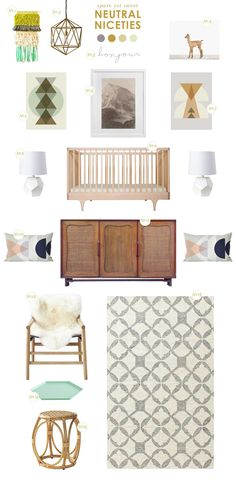 neutral niceties nursery inspiration - Lay Baby Lay - love {13} Tile Wool Kilim Rug 5x8 $349 (varying sizes available)