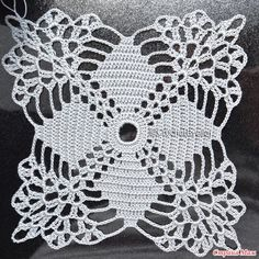 The Number One Marketplace to Buy Crochet Patterns Free Crochet Doily Patterns, Crochet Lace Edging, Crochet Leaves, Crochet Circles, Crochet Blocks, Granny Square Crochet Pattern, Crochet Diagram, Crochet Chart, Crochet Squares