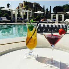 MISS BILLIONAIRESS PRIVATE POOL/CABANAS Fashion Glamour Style Luxury Bella Donna's Luxury Designs