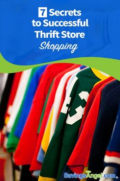 Thrift stores can be a great source of inexpensive and one-of-a-kind items. With a few hints and tips, you can find success as a thrift store shopper. Ways To Save Money, Money Tips, Money Saving Tips, Saving Ideas, Thrift Store Shopping, Thrift Stores, Quitting Your Job, Frugal Living Tips, Finance Tips