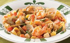 Olive Garden Pappardelle Pescatore