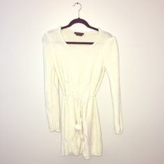 Sweater Dress Super cute and So comfy!! Brand new and looks so great with high socks and boots !! BCBGMaxAzria Sweaters
