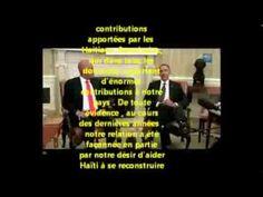 Dialogue ( traduits en français) entre Président Martelly et Président Obama à la Maison Blanche le 6 janvier 2014. Haiti's Martelly met President Obama at the White House, Jan 6, 2014