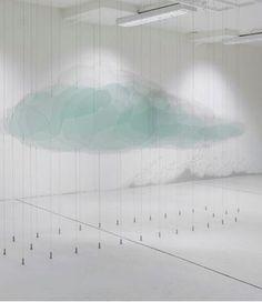 """Pierre Malphettes, """"Glass Cloud"""" 2008 (Un nuage de verre)"""