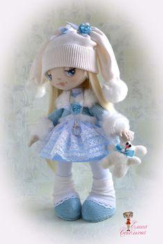 Алинка-льдинка) | Куклы авторские | Игрушки | Uniqhand - сообщество любителей необычных вещей