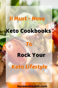 You have learned the Keto basics but what type of meals do you cook to stay on track? Explore 11 keto cookbooks to help you lose weight & feel great. Healthy Diet Tips, Best Keto Diet, Healthy Eating Recipes, Keto Diet Plan, Diet Recipes, Keto Meal, Paleo Diet, Cookie Recipes, Vegan Recipes
