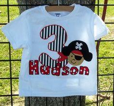 Birthday Pirate Shirt
