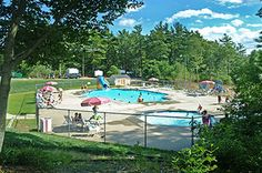 Camping at Cape Cod Campresort & Cabins - a Campground in East Falmouth, Massachusetts
