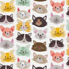 Love this car surface pattern by Maude Asbury via Print & Pattern Art And Illustration, Pattern Illustration, Textures Patterns, Fabric Patterns, Print Patterns, Cat Wallpaper, Pattern Wallpaper, Art Carte, Motifs Animal