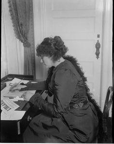 Maude Gonne, Irish Patriot, ca. 1900.