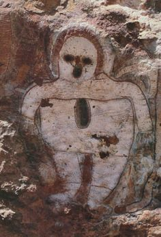 Mysterious Wandjina - Legacy Of Australian Aborigine Cave Paintings - MessageToEagle.com