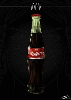 Wraps her lips round the Mexican coke, makes you wish that you were the bottle