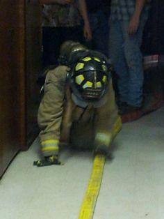 Best workout ever - volunteer firefighter agility test