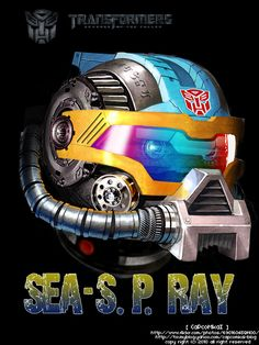 Transformer SEA-S.P.RAY by ~capcomkai2008 on deviantART